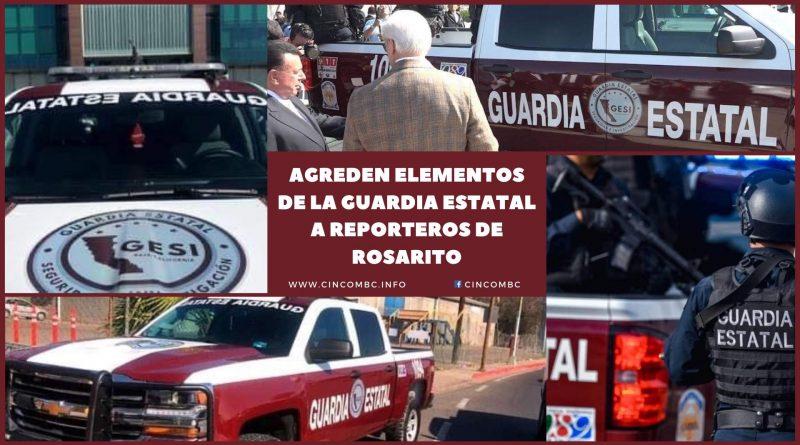 Reporteros fueron agredidos por agentes del GESI