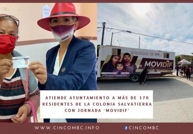 ATIENDE AYUNTAMIENTO A MÁS DE 170 RESIDENTES DE LA COLONIA SALVATIERRA CON JORNADA 'MOVIDIF'