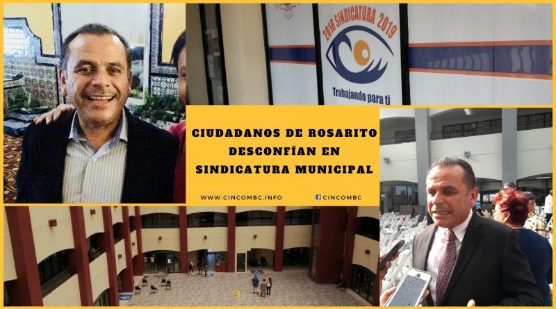 Ciudadanos de Rosarito Desconfían en Sindicatura Municipal.