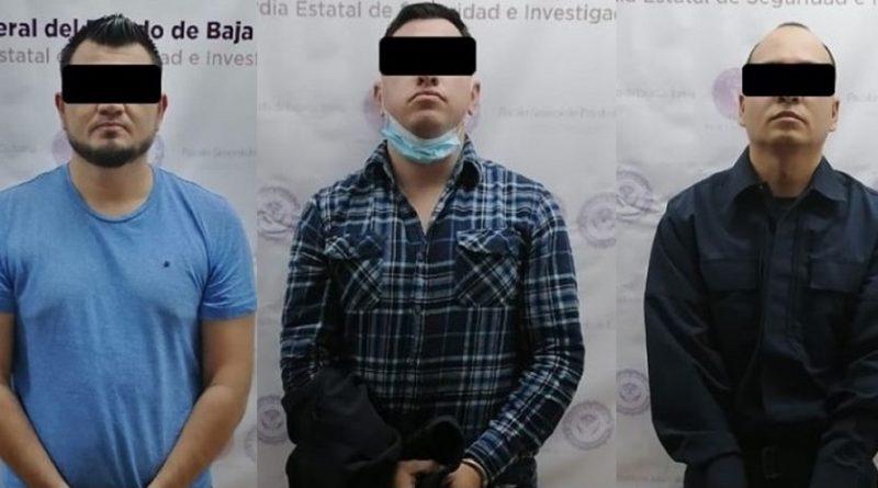 DETIENEN A TRES POLICÍAS DE LA (GESI) POR SECUESTRO EN MEXICALI