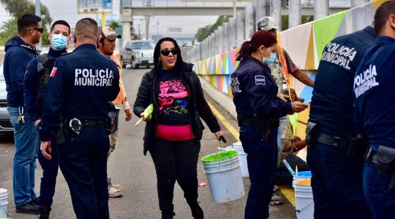 SUMAN ESFUERZOS SOCIEDAD Y GOBIERNO EN MEJORA DE IMAGEN DEL  PUENTE MACHADO