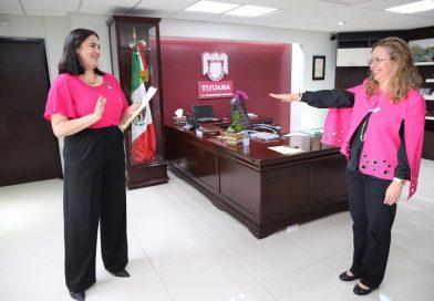 KARLA RUIZ TOMA PROTESTA A MAGDALENA ESCALANTE COMO SECRETARIA PARTICULAR DE PRESIDENCIA MUNICIPAL