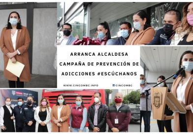 ARRANCA ALCALDESA CAMPAÑA DE PREVENCIÓN DE ADICCIONES #ESCÚCHANOS