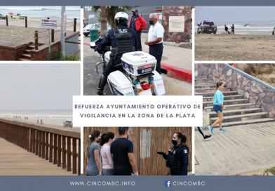 REFUERZA AYUNTAMIENTO OPERATIVO DE VIGILANCIA EN LA ZONA DE LA PLAYA