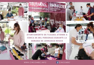 AYUNTAMIENTO DE TIJUANA ATIENDE A CERCA DE MIL PERSONAS DURANTE LA SEMANA DE JORNADAS ROSAS