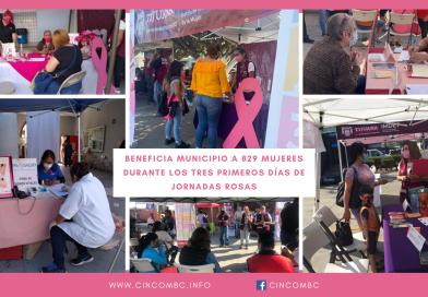 BENEFICIA MUNICIPIO A 829 MUJERES DURANTE LOS TRES PRIMEROS DÍAS DE JORNADAS ROSAS