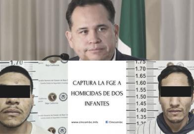 CAPTURA LA FGE A HOMICIDAS DE DOS INFANTES