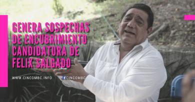Candidatura de Salgado divide a Morena y genera sospechas de encubrimiento