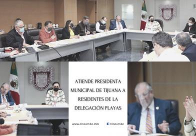 ATIENDE PRESIDENTA MUNICIPAL DE TIJUANA A RESIDENTES DE LA DELEGACIÓN PLAYAS