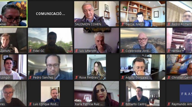 SOSTIENE KARLA PATRICIA RUIZ MACFARLAND REUNIÓN CON LA ASOCIACIÓN DE EMPRESARIOS DE BAJA CALIFORNIA