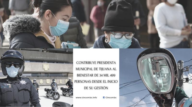 CONTRIBUYE PRESIDENTA MUNICIPAL DE TIJUANA AL BIENESTAR DE 34 MIL 499 PERSONAS DESDE EL INICIO DE SU GESTIÓN