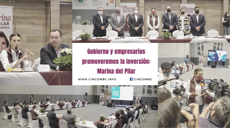 Gobierno y empresarios promoveremos la inversión: Marina del Pilar