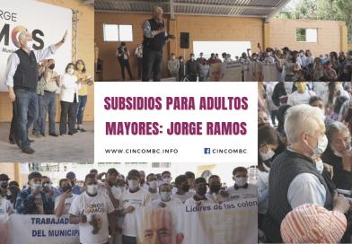 SUBSIDIOS PARA ADULTOS MAYORES: JORGE RAMOS