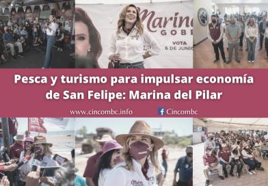 Pesca y turismo para impulsar economía de San Felipe: Marina del Pilar