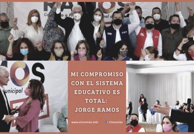 MI COMPROMISO CON EL SISTEMA EDUCATIVO ES TOTAL: JORGE RAMOS