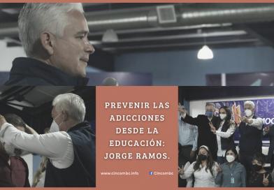 PREVENIR LAS ADICCIONES DESDE LA EDUCACIÓN: JORGE RAMOS.