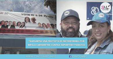ARREMETEN CONTRA REPORTERO *PANISTAS
