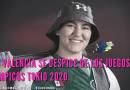 Ale Valencia se despide de Los Juegos Olímpicos Tokio 2020.