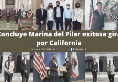 Concluye Marina del Pilar exitosa gira por California