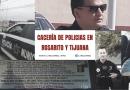 CACERíA DE POLICIAS EN ROSARITO Y TIJUANA